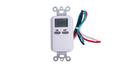 Intermatic EI500WC Single Pole Digital Switch