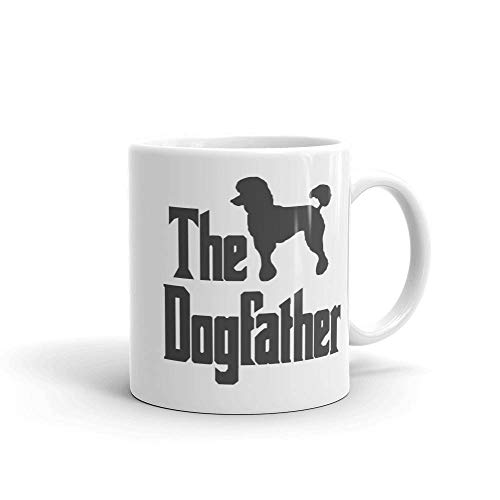The Dogfather Mug Poodle Silhouette Funny Dog Gift for sale  Delivered anywhere in USA