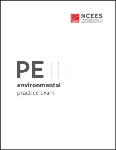PE Environmental Practice Exam