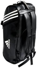 Adidas Sac de sport Karate bandes blanches M 60x30x30 cm