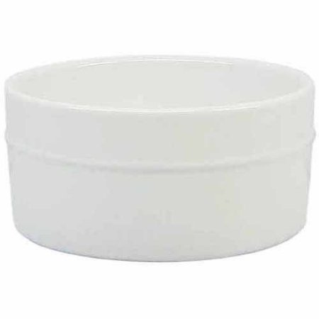 Durable Large Round Porcelain Ramekins, White, Set of 6 BH13-036-099-04 by Better Homes and Gardens