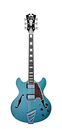 D'Angelico Premier DC Semi-Hollow Electric Guitar w/ Stairstep Tailpiece – Ocean Turquoise