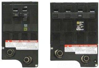 SCHNEIDER ELECTRIC Miniature Circuit Breaker 120/240-Volt 175-Amp QO2175 Sw Fusible Hd 600A No Ko Nema12/Neutral