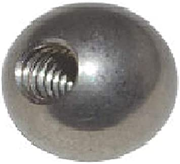 Loos CT-S64XXFF-0240 Cable Assembly Stainless Steel Threaded Stud 0.125 3//16 2/' Long 0.125 Loos /& Co Inc -24 and Threaded Stud 2 Long 3//16 -24 Bare 5//16 5//16