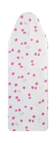 VieveMar Ironing Board Cover, Save 50% Ironing TIME! Easy FIT with Drawstring, NO DYE Transfer! 3 Durable Layers with Cotton, Aluminum and Teflon, Heat Reflective, Fits Wide Boards 18