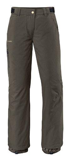 VAUDE Hose Women's Craigel Padded Pants - Pantalones para mujer verde