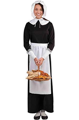 Adult Lady Pilgrim Costume Set - Adult Std.