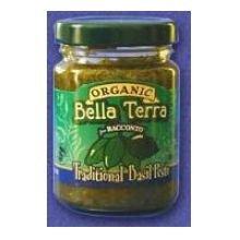 Racconto Bella Terra Organic Traditional Garlic and Basil Pesto - 6 per case.