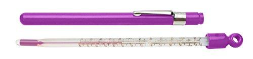 SP Bel-Art, H-B DURAC Plus Pocket Liquid-In-Glass Laboratory Thermometer; 20 to 120F, Closed Plastic Case, Organic… |