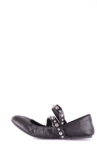Flats Black Madden MCBI283025O Leather Steve Women's OHRxnP