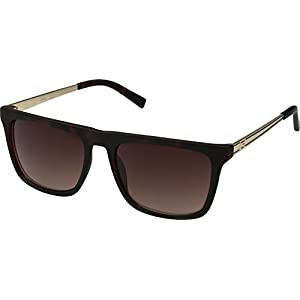 GUESS GF0176 Matte Havana With Gold/Brown Gradient Lens One Size