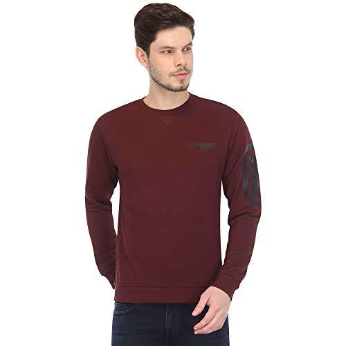 Ed Hardy Mens Round Neck Solid Sweatshirt