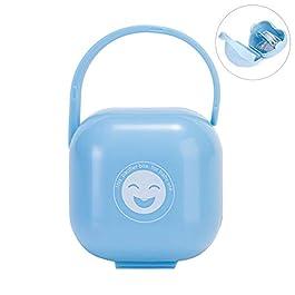 Caja de chupete azul