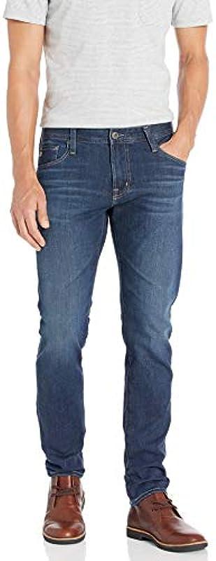AG Adriano Goldschmied Męskie The Dylan Slim Skinny Leg Denim Jeans: Odzież