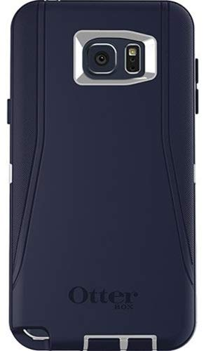 OtterBox DEFENDER Cell Phone Case for Samsung Galaxy Note 5 Blue/White