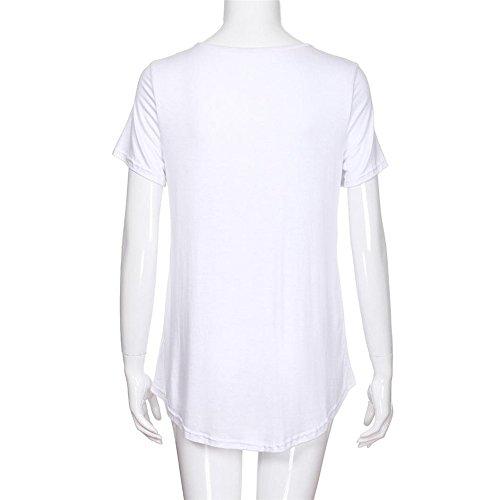Taille Boho Blanc Manche Grande Cher Femme Chemisier Coton Pas Femme Shirt Chic Femme Femme Courte Top Blouse Tee qnAxcS6TxU
