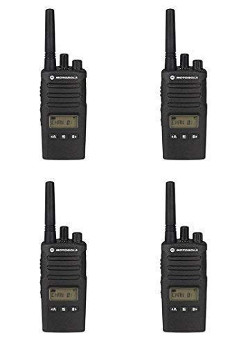 4 Pack of Motorola RMU2080d Business Two-Way Radio LED Display 2 Watts/8 Channels