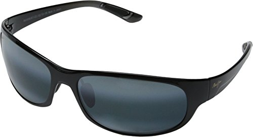 Maui Jim Unisex Twin Falls Gloss Black Fade/Neutral Grey One ()