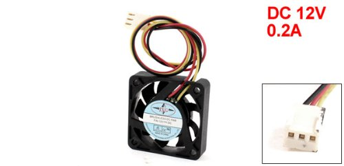 40mm 3Pin PC Computer CPU Cooler Cooling Fan 12VDC 0.2A