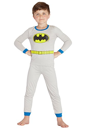 (DC Comics 2 Piece Batman PJ Set (Toddler/Kid) - Blue-6)