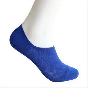 Jellbaby Calcetines Antideslizantes para Hombre, de Malla, Transpirables, de Corte bajo, Desodorante, Azul, 1 par: Amazon.es: Hogar
