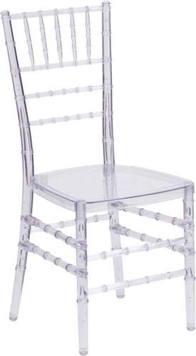 (Lovely999 New Crystal Clear 10 Pack Crystal Clear Chiavari Chair Meets or Exceeds ANSI BIFMA Safety Standards Commercial Quality in Crystal Clear,Inner Frame Added for Superior Stability)