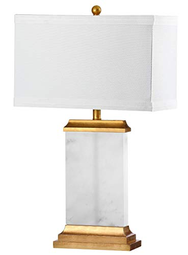 Alabaster Table Lamp - Safavieh TBL4068A Lighting Collection Delilah Alabaster White Table Lamp