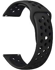 Silicone Watch Bracelet From Liger Black Color