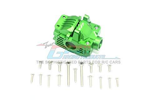 Traxxas Rustler 4X4 VXL (67076-4) Upgrade Parts Aluminum Front Gear Box -1 Set Green (Front Gearbox Set)