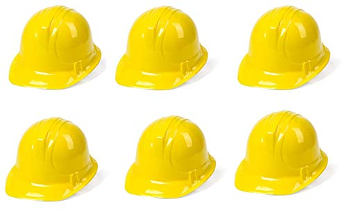 Dazzling Toys 6 Pack Construction Hats | Building