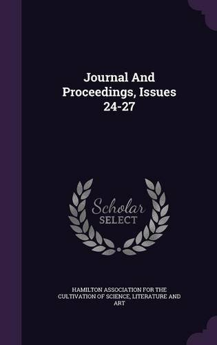 Read Online Journal And Proceedings, Issues 24-27 PDF