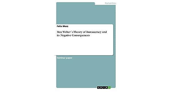 webers theory of bureaucracy