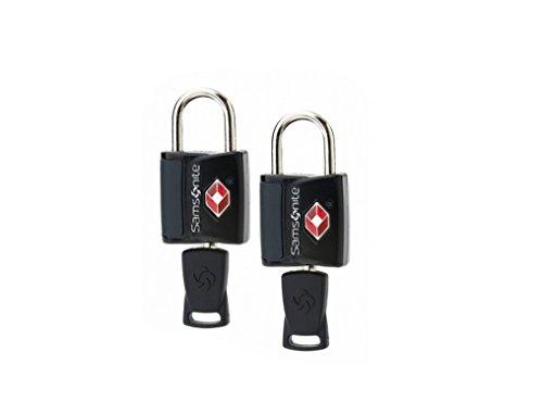 Samsonite Luggage 2 Pack Travel Sentry Key Lock, Black, One Size by Samsonite