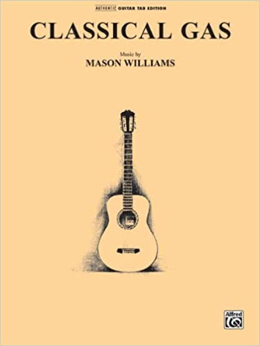 The Music of Mason Williams Guitar TAB Book Classical Gas
