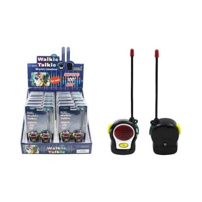 Diamond Visions 11-2163 World's Smallest Walkie Talkie: Toys & Games