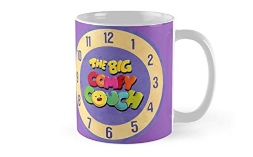 The Big Comfy Couch Clock Mug(One Size)