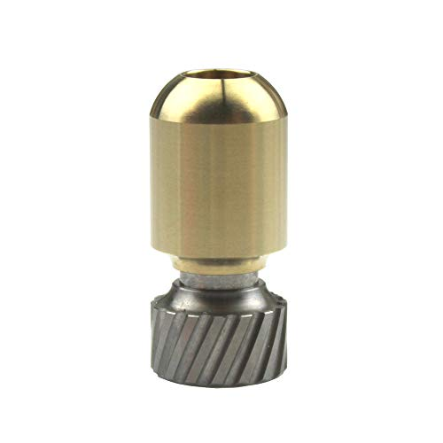 Torpedo Shape Titanium Brass Knife Lanyard Bead EDC Zipper Pull 550 Paracord Necklace Bead Pendant