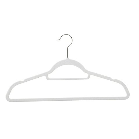Real Simple Slimline 50 Count Flocked Suit Hangers (Dove) by Real Simple