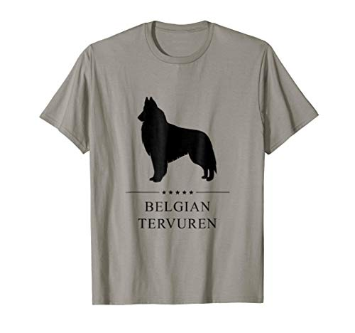 Belgian Tervuren Shirt: Black Silhouette ()