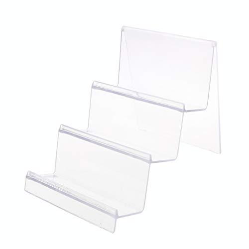- babyHUIH Acrylic Wallet Display Stand Holder Leather Handbag Purse Jewelry Stand