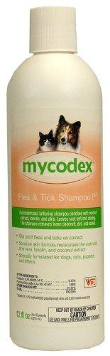 Mycodex Flea and Tick Shampoo P3 [Triple Strength Pyrethrin], 6 oz., My Pet Supplies