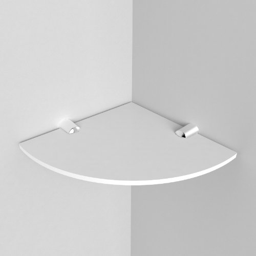 Merveilleux Amazon.com: Small Acrylic Corner Bathroom Shelf   150mm   Approx 6   White  By Expression Products: Beauty