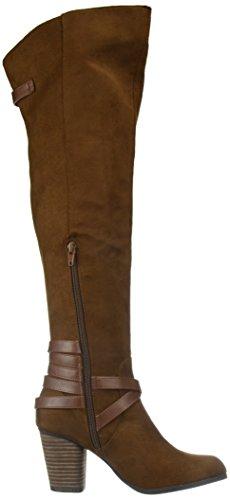 Chestnut Dutchyy Boot Women's Fashion Madden Micro Girl 6qx8AHSH
