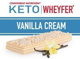 Convenient Nutrition Keto Wheyfer Bars Vanilla Cream – 10 Bars