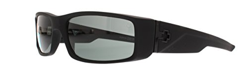 Spy Optic Hielo Sunglasses,Matte Black Frame/Grey Lens,one - Spy Sunglasses Hielo