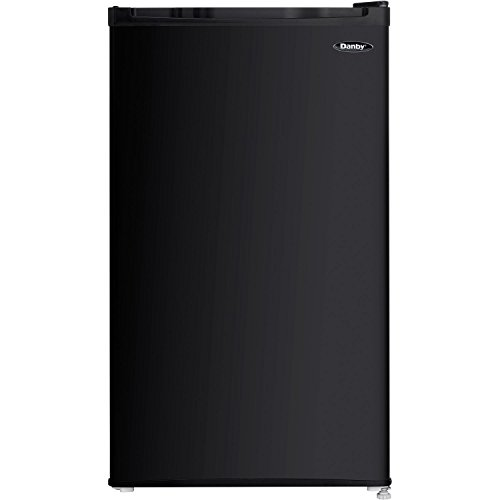 Danby DCR032C1BDB Compact Refrigerator,1 Door, 3.2 cu-ft, Black (Cooling Glass For Mens Online)