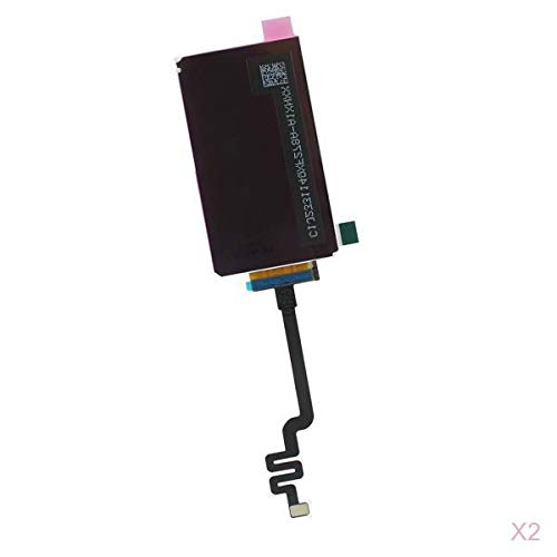Almencla 2X Black Inside LCD Display Screen Replace Accessory +Opening Tool for iPod Nano 7th Generation