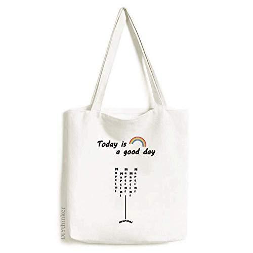 Martini With Its Cup Tote Canvas Bag Craft Washable Fashion Shopping Handbag