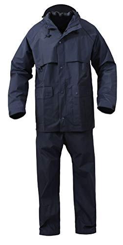 (BlackC Sport Microlite Durable 2 Piece PVC Lightweight Rainsuit)