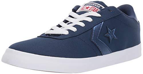 Converse Women's Point Star Low Top Sneaker Navy/White, 7 M US (Navy Blue All Star Converse Women)